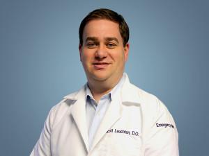 Dr. Scott Leuchten, Vice Chair Education, SBH Department of Emergency Medicine