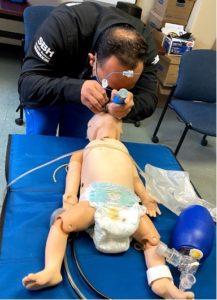 EM simulation procedure with infant