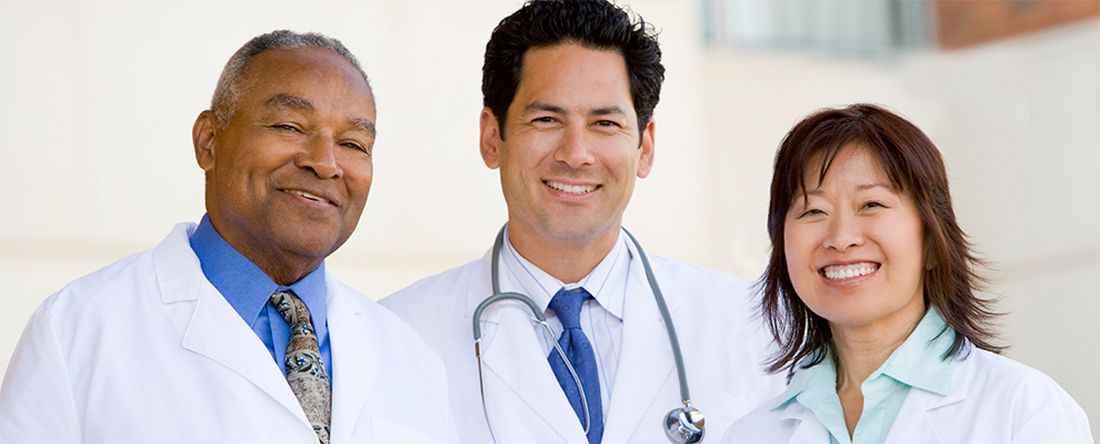 image of diverse group of doctors