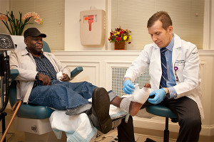 wound healing, hyperbaric chamber, SBH Health System Bronx, Dr. Campbell