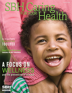 image of boy laughing on CFYH summer cover 2014