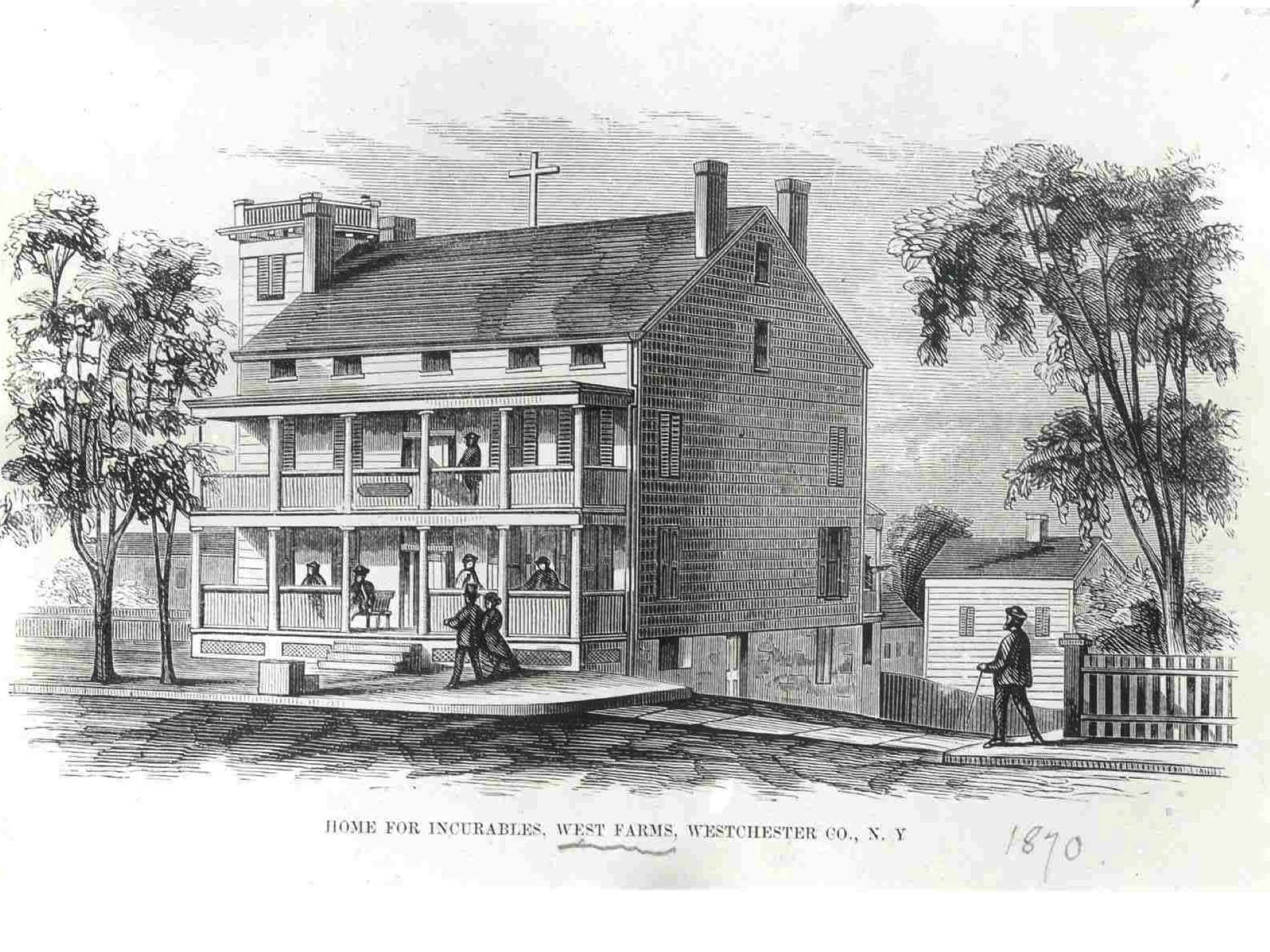 Image of SBH Health System in 1870