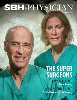 Image of front cover of physicians magazine winter 2016