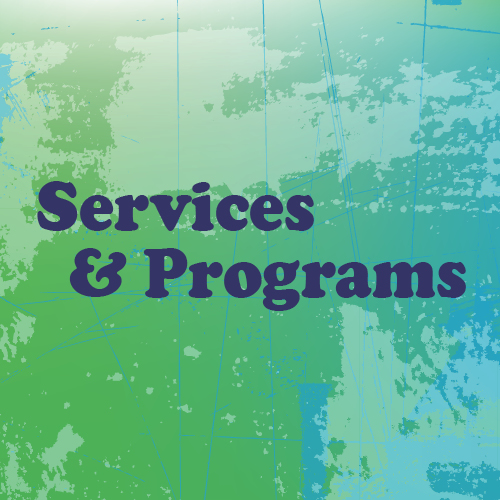 image saying services and programs