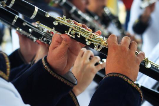 Image of high school band