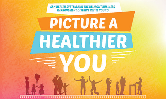 Image of Picture a Healthier You flier