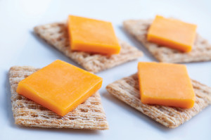 Image of cheese and crackers