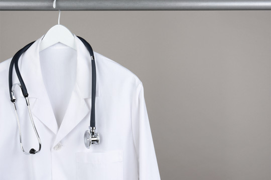 Image of physician lab coat
