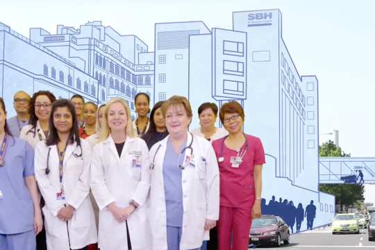 Image of SBH Health System commercial