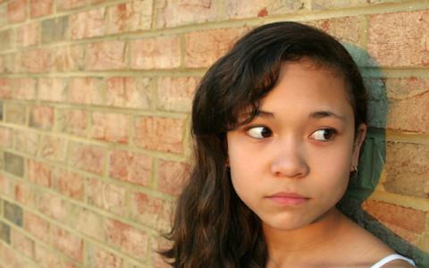 Image of sad girl
