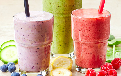 Image of healthy smoothies