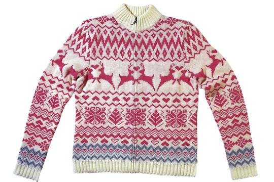 Image of sweater for cold weather