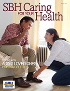 Image of front cover for SBH Caring For Your Health Winter 2016 cover
