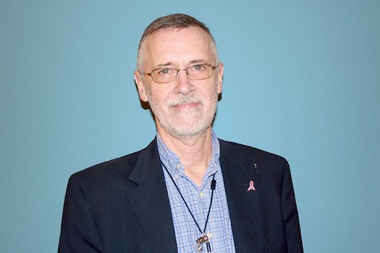 Image of St. Barnabas Hospital Chaplain Tom Rowan