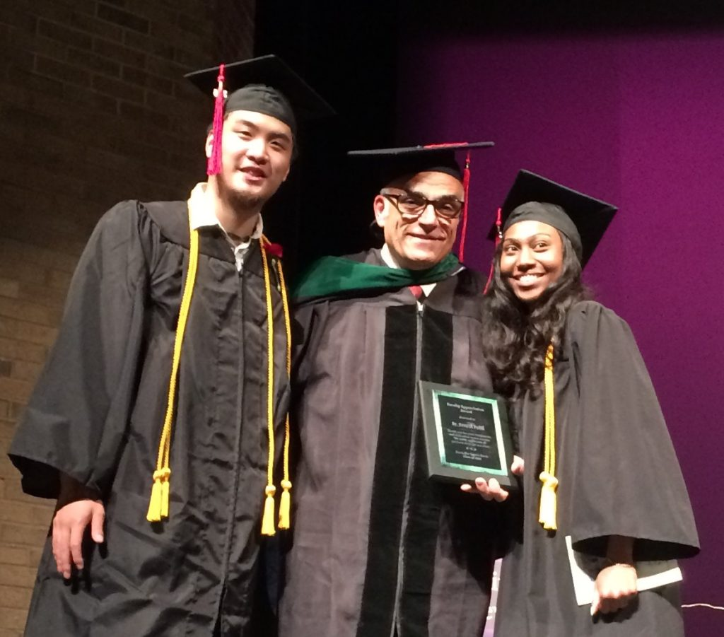 Dr. Ernest Patti Named Teacher of the Year