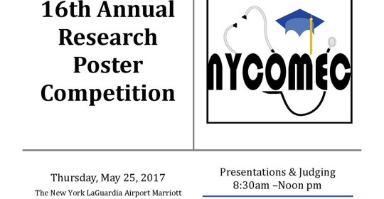 16th Annual Research Poster Competition- NYCOMEC