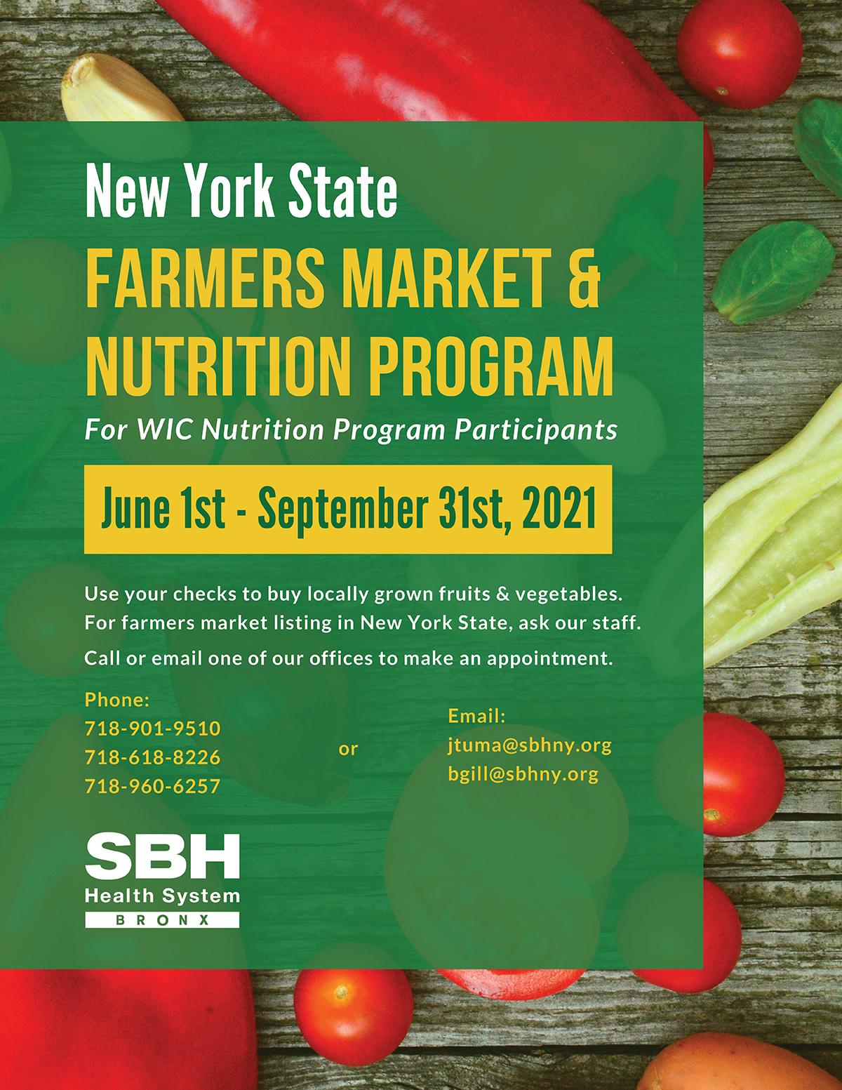 Farmer's Market Flyer