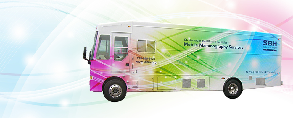 Image of Mobile Mammography Van