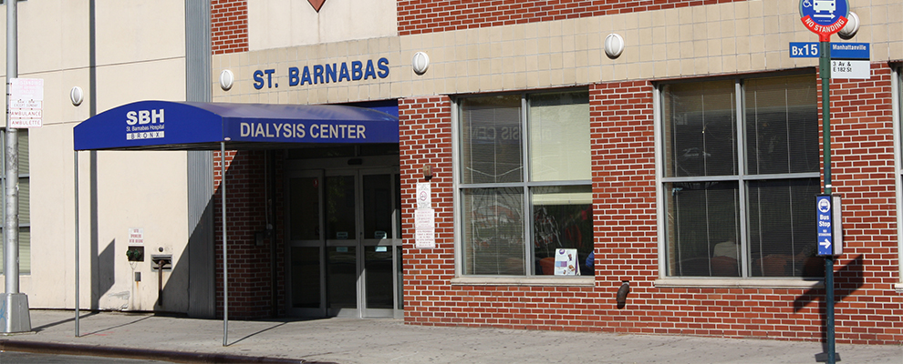 image of SBH Hemodialysis Center, SBH Health Sytem Bronx