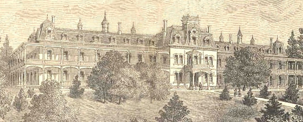 Image of rendering for original hospital