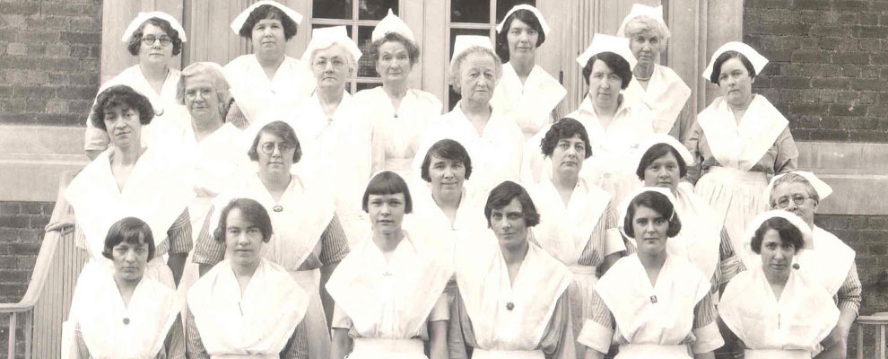 Image of SBH nurses from turn of the century