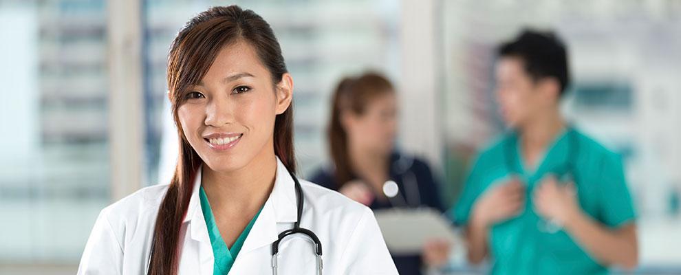 Image of female nurse