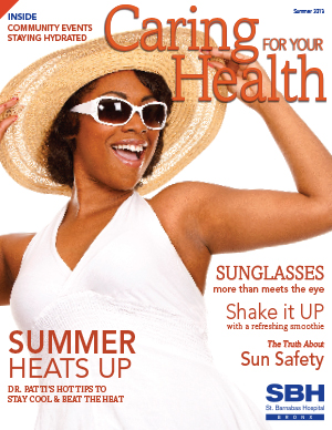 image of happy woman on CFHY summer cover 2013