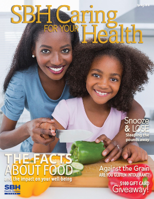 image of mother and daughter on CFYH spring cover 2014