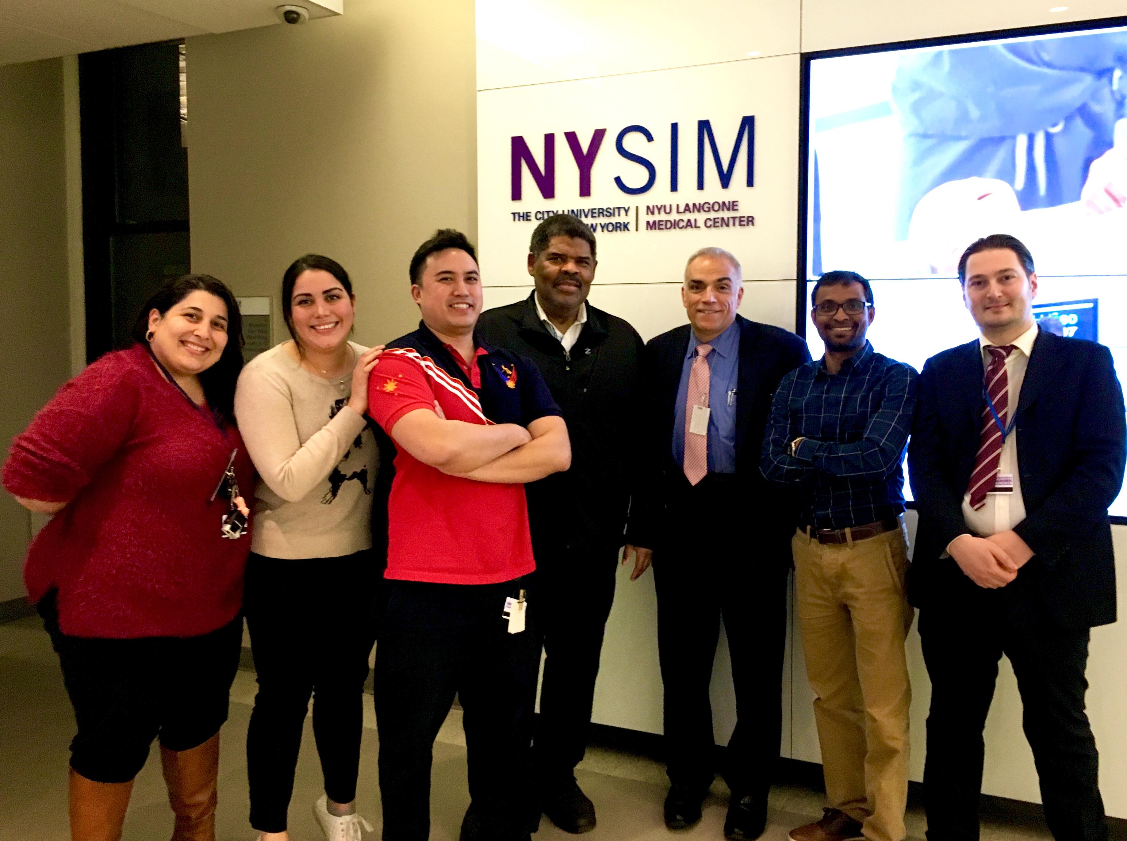 Images of NYSIM training center