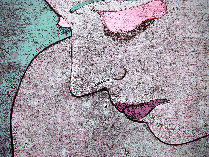 Illustration of a woman thinking about Breast Cancer Facts And Fears