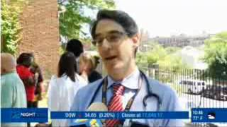 Image of Dr. Eric Appelbaum on television