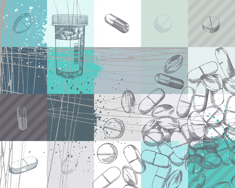 Illustration of medication