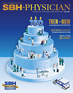 Image of front cover of SBH Physician Magazine Fall 2016