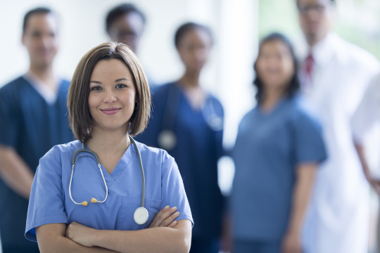 Image of Nurse whose second career is healthcare