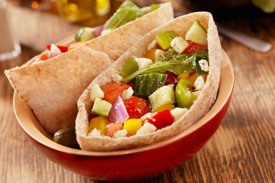 Image of Avocado Chickpea Salad Sandwich