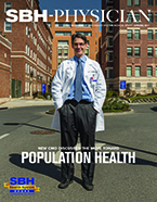 Image of the cover of SBH Physician, Spring 2017