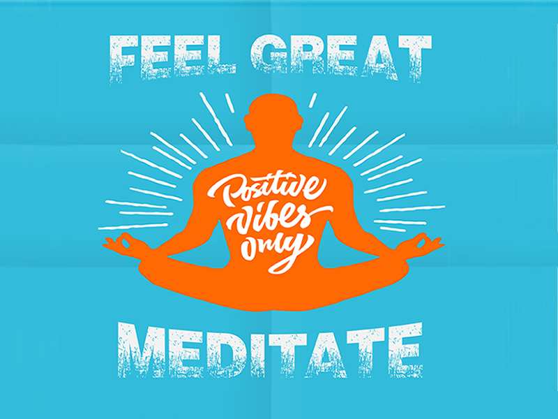 Image of free weekly meditation class