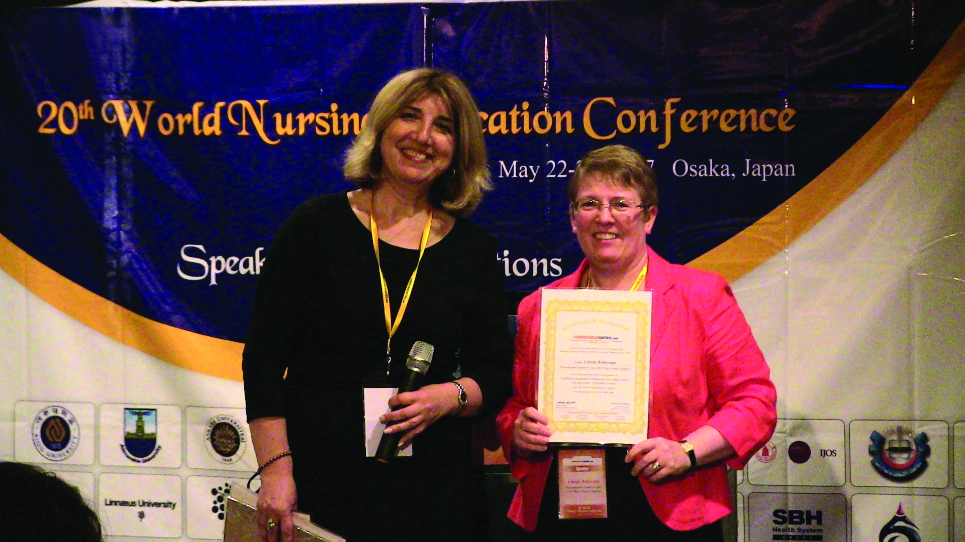 Image of Angela Babaev, RN at 20th World Nursing Education Conference