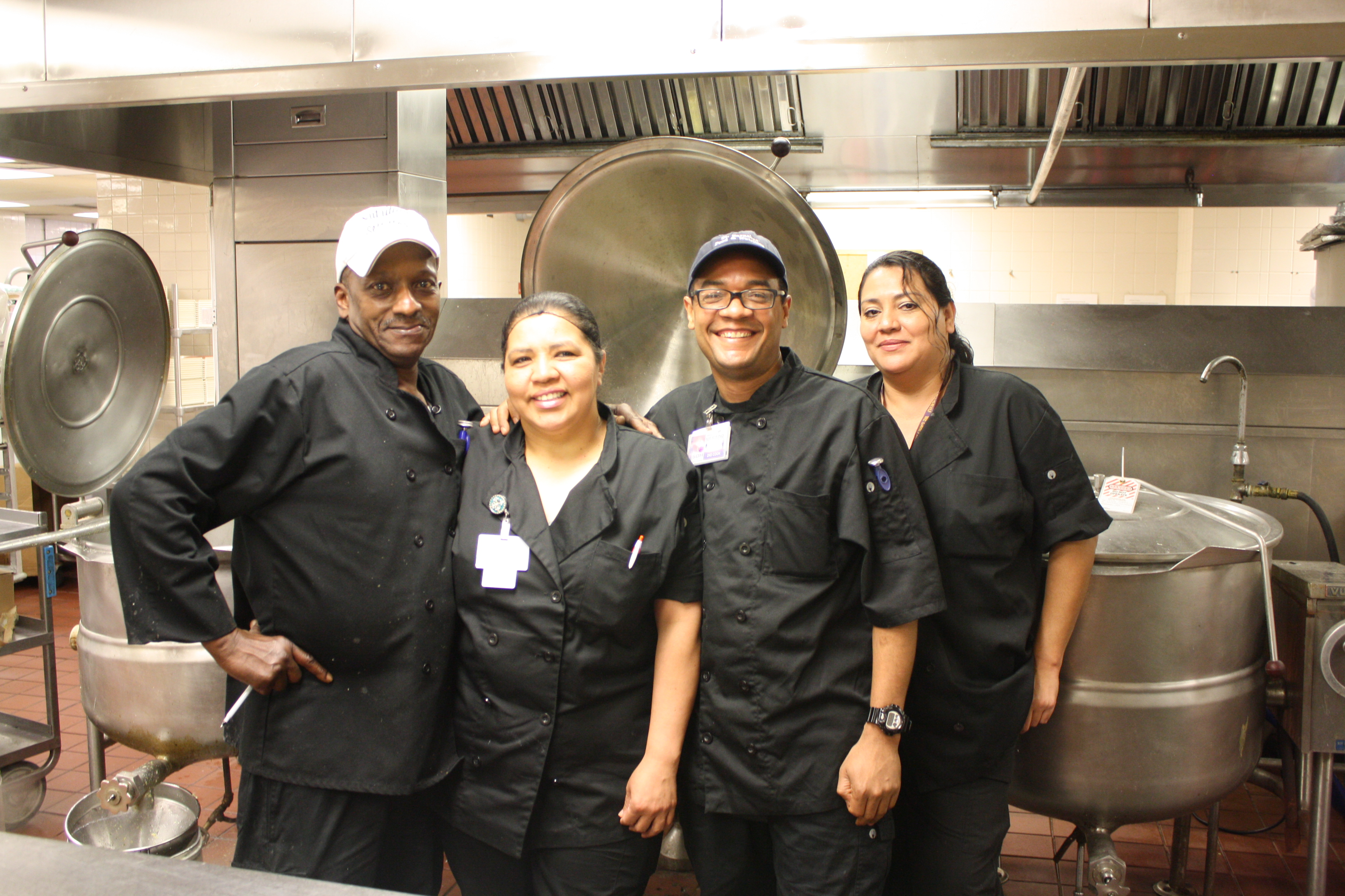 Image of Cooking Staff from St. Barnabas Hospital