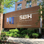 Image of exterior of St. Barnabas Hospital, SBH Health System