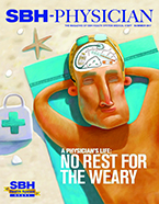 Image of SBH Physician, Summer 2017, Front Cover