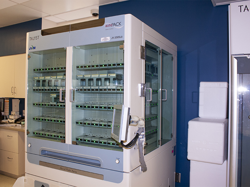 Image of Talyst Autopak Machine at SBH Pharmacy